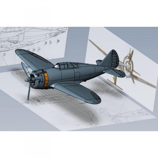 Dora Wings 48034 Republic P-43 B/C Lancer 1/48