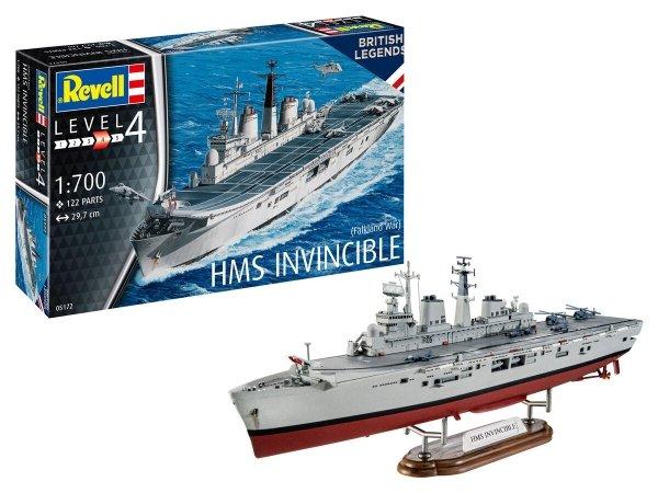 Revell 65172 HMS Invincible (Falkland War) Model Set 1/700