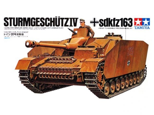Tamiya 35087 German Sturmgeschtz IV (1:35)
