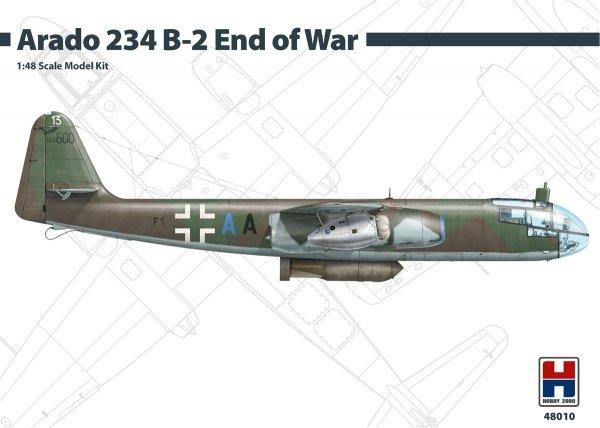 Hobby 2000 48010 Arado 234 B-2 End of War 1/48