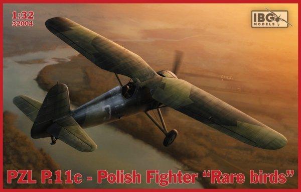 IBG 32004 PZL P.11c Polish Fighter - Rare Birds 1/32