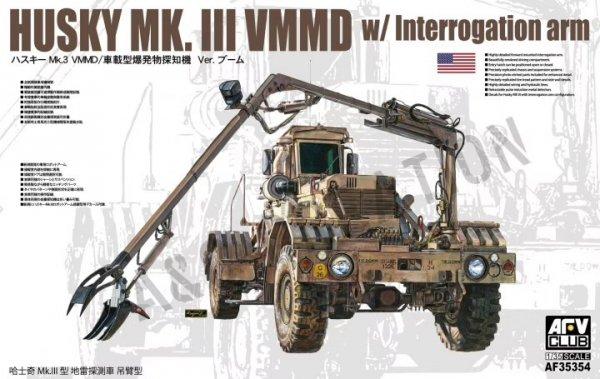AFV Club AF35354 Husky Mk. III VMMD with Interrogation Arm 1/35