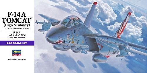 Hasegawa E3 F-14A Tomcat High Visibility (1:72)