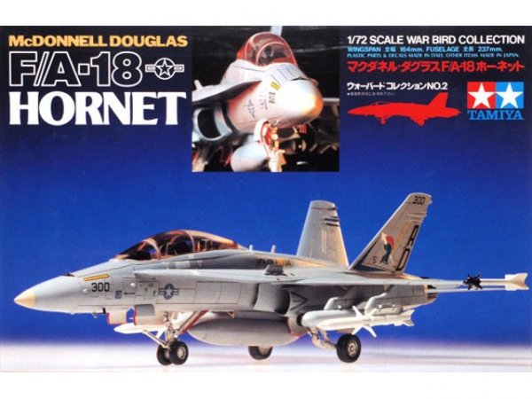 Tamiya 60702 McDonnell Douglas F/A-18 Hornet (1:72)