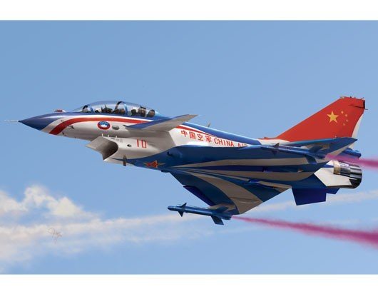 Trumpeter 01644 Chinese J-10S fighter (1:72)