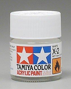 Tamiya X2 White (81502) Acrylic paint 10ml