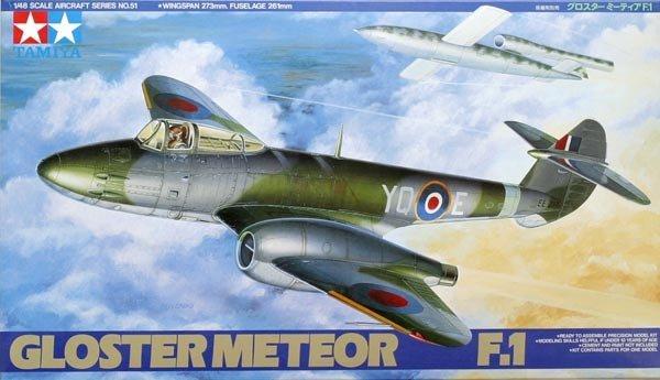 Tamiya 61051 Gloster Meteor F.1 (1:48)