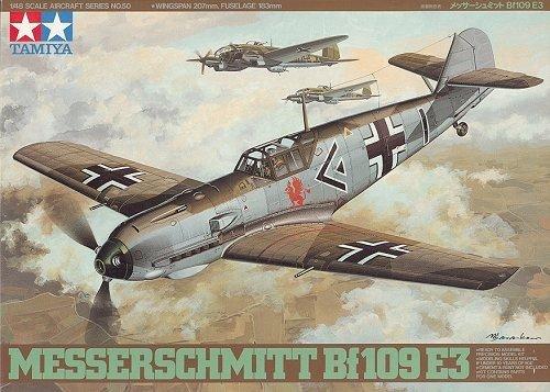 Tamiya 61050 Messerschmitt Bf109 E-3 (1:48)