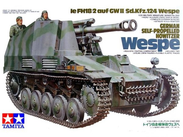 Tamiya 35200 German Self Propelled Howitzer Wespe (1:35)