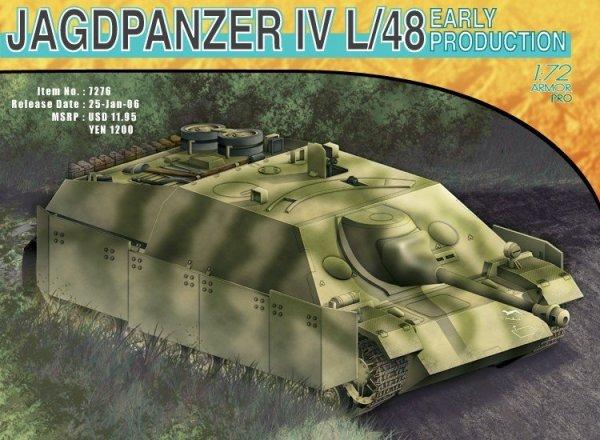 Dragon 7276 Jagdpanter IV L/48 Early (1:72)