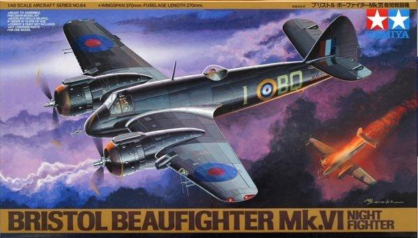Tamiya 61064 Bristol Beaufighter Mk.VI Night Fighter (1:48)