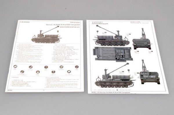 Trumpeter 00362 German Pz.Kpfw IV Ausf D/E Fahrgestell (1:35)