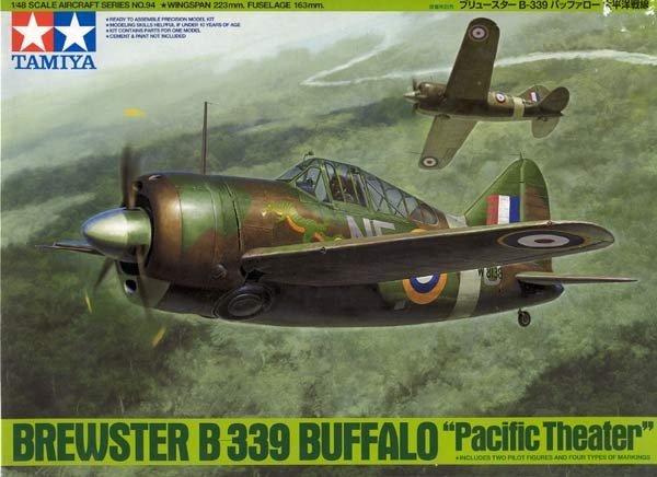 Tamiya 61094 Brewster B-339 Buffalo Pacific Theater (1:48)