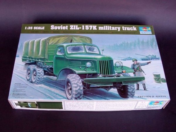 Trumpeter 01003 Soviet ZIL-157K military truck (1:35)