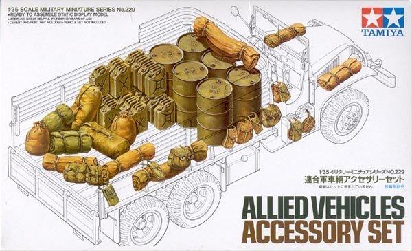 Tamiya 35229 Allied Vehicles Accessory Set (1:35)