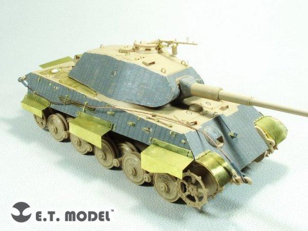 E.T. Model E35-273 WWII German KING TIGER(Porsche Turret)Basic For Meng 1/35