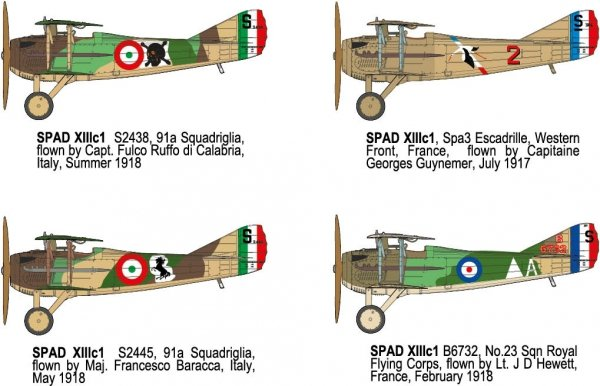 Roden 634 Spad XIII c1 1/32