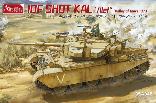 "Amusing Hobby 35A048 IDF Shot Kal ""Alef"" ""Valley of Tears 1973"" 1/35"