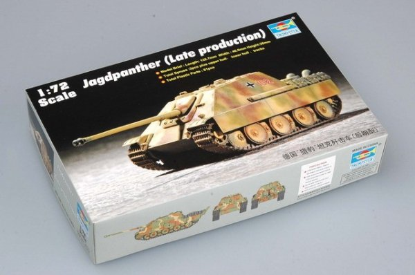 Trumpeter 07272 Jagdpanther (Late production) (1:72)