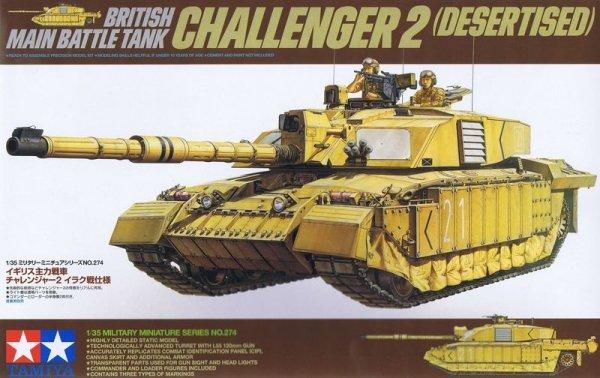 Tamiya 35274 British Main Battle Tank Challenger 2 (Desertised) (1:35)