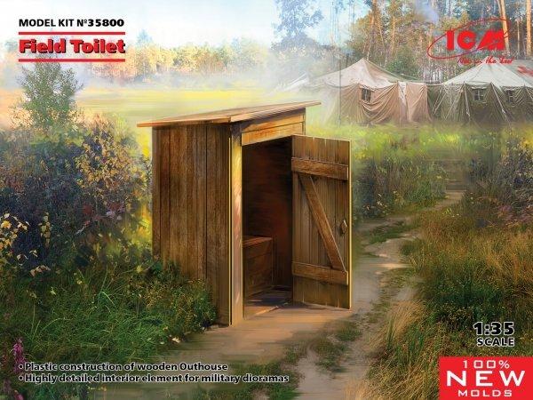 ICM 35800 WC Field Toilet 1/35