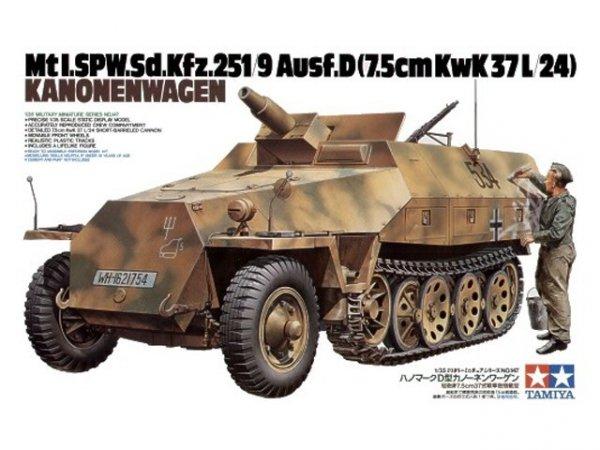 Tamiya 35147 German Sd.Kfz. 251/9 Ausf.D Kanonenwagen (1:35)