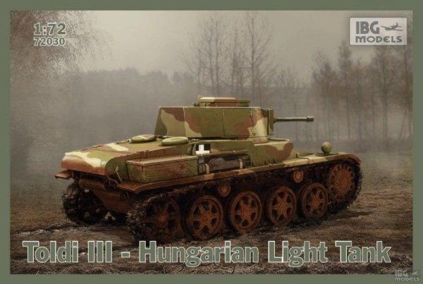 IBG 72030 Toldi III Hungarian Light Tank 1/72