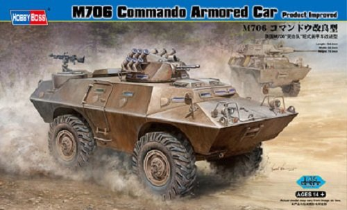 Hobby Boss 82419 M706 Commando Armored Car Product Improved (1:35)