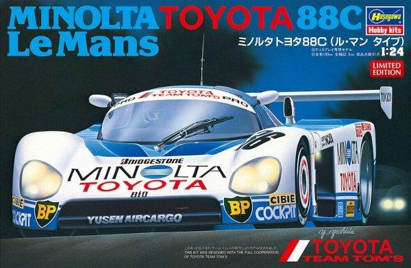 Hasegawa 20426 Minolta Toyota 88C Le Mans (Uszkodzony Karton/damaged cardboard)1/24