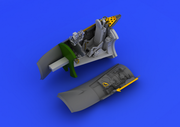 Eduard 672024 MiG-15bis cockpit 1/72 (Eduard)