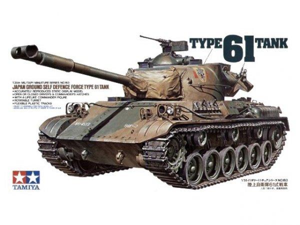 Tamiya 35163 JGSDF Type 61 Tank (1:35)