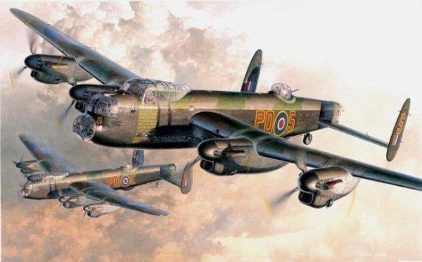 Hasegawa E23 Lancaster B.Mk.I/Mk.III (1:72)