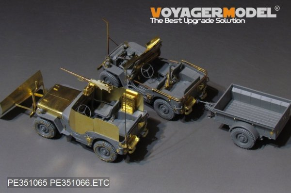 Voyager Model PE351065 WWII U.S. Jeep Willys MB For TAKOM 2126 1/35