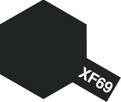 Tamiya XF69 NATO Black (81769) Acrylic paint 10ml