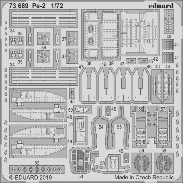 Eduard 73689 Pe-2 1/72 ZVEZDA