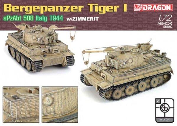 Dragon 7210 Demolition Tiger w/Zimmerit (1:72)