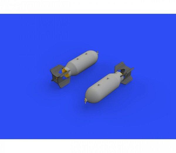 Eduard 672244 US 1000lb bombs 1/72