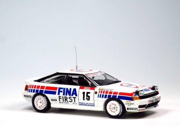 NuNu 24015 Toyota Celica DT-FOUR ST165 Rally 1991 Tour de Corse 1/24
