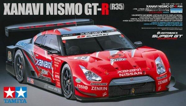 Tamiya 24308 Xanavi Nismo GT-R (R35) (1:24)