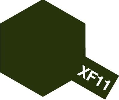 Tamiya XF11 J.N. Green (81711) Acrylic paint 10ml