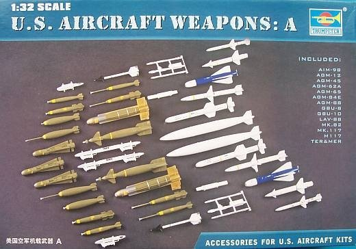 Trumpeter 03302 US Aircraft Weapon I (1:32)