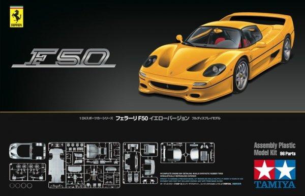 Tamiya 24297 Ferrari F50 Yellow Version (1:24)