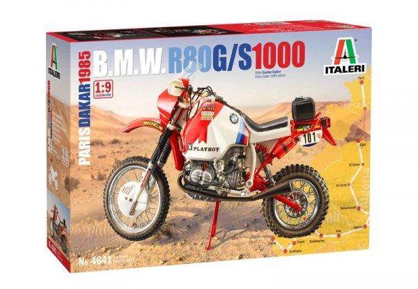 Italeri 4641 B.M.W. R80 G/S 1000 Paris Dakar 1985 1/9