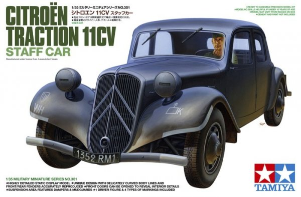 Tamiya 35301 Citroen Traction 11CV (1:35)