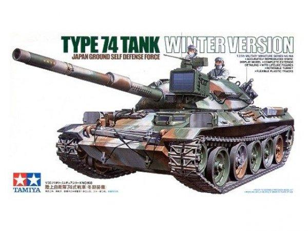 Tamiya 35168 JGSDF Type 74 Tank Winter Version (1:35)