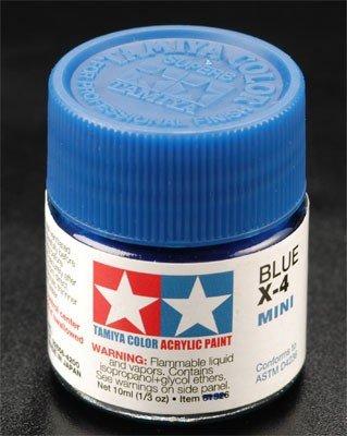 Tamiya X4 Blue (81504) Acrylic paint 10ml