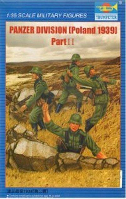 Trumpeter 00404 Panzer Division (Poland 1939) - Part II (1:35)