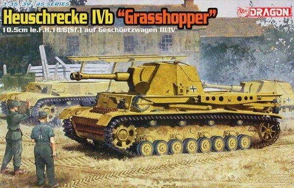 """Dragon 6439 Heuschreke IVb """"Grasshopper"""" (1:35)"""