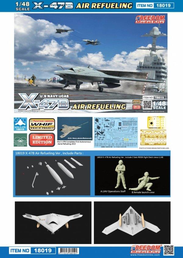 Freedom 18019 U.S Navy UCAS X-47B Air Refueling 1/48