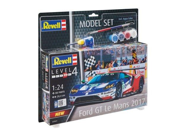Revell 67041 Ford GT Le Mans 2017 - Model Set 1/24